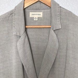 Anthropologie Cloth &Stone blazer
